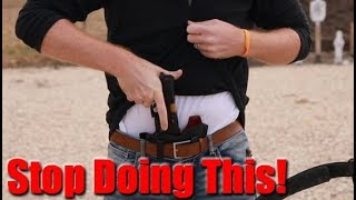The 2 Best Ways To Avoid Shooting Yourself By Accident