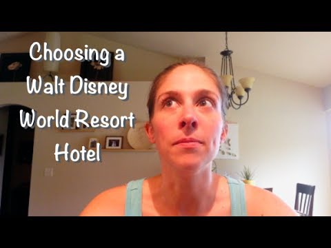 Choosing a Walt Disney World Resort Hotel