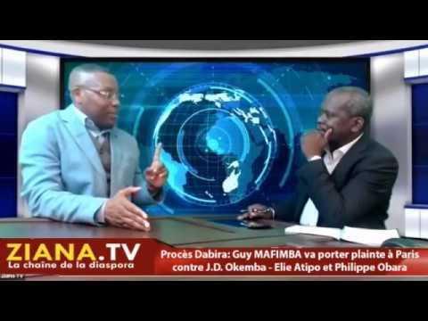 P.R.O.C.E.S DABIRA. Guy Mafimba va porter plainte contre J.D.Okemba, Elie Atipo et Philippe Obara...