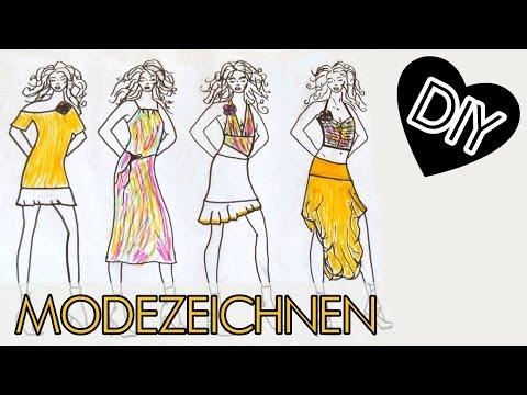 DIY Modezeichnen leicht gemacht, Tipp Trick einfach für Anfänger from YouTube · Duration:  5 minutes 9 seconds