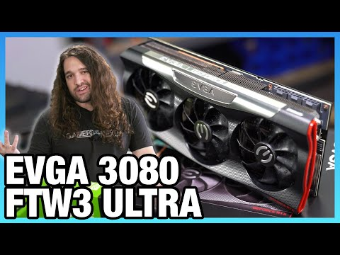 EVGA RTX 3080 FTW3 Ultra Review: Thermals, Overclocking, Noise, Power, U0026 XOC Records