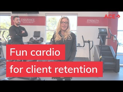 Make Cardio Fun and Retain Your Clients