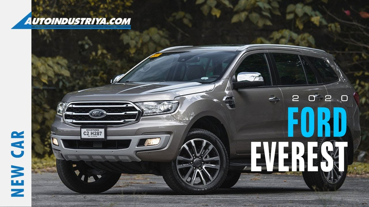 2020 Ford Everest New Car Youtube