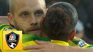 Teemu Pukki puts Norwich City ahead v. Arsenal | Premier League | NBC Sports