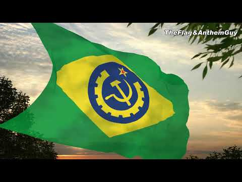 Flag and anthem of the Socialist Republic of Brazil