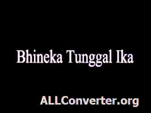 Bhineka Tunggal Ika (sdn2jatisaba.blogspot.com)