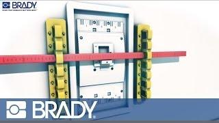 Brady Lockout Tagout Device Movie: 480-600 V breaker blocker