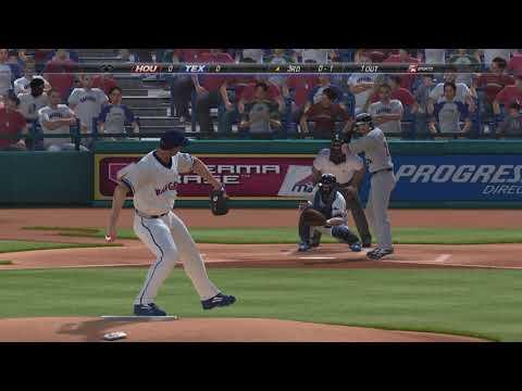 MLB 2K7 Gameplay Texas Rangers Vs. Houston Astros Gameplay