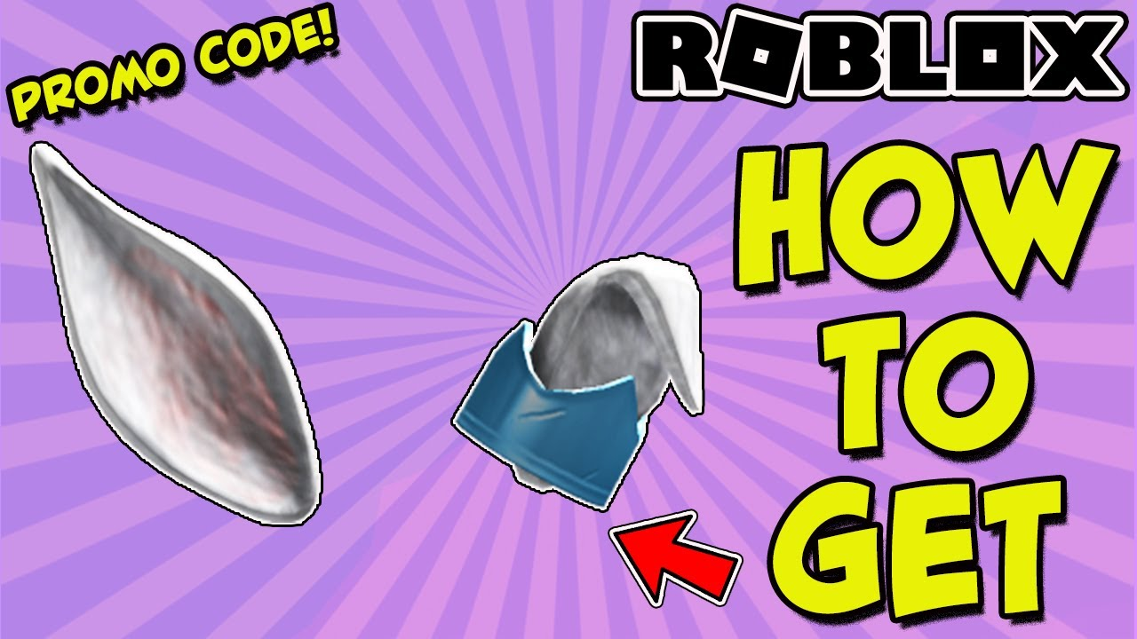 PROMO CODE HOW TO GET THE ROYAL WINTER RABBIT EARS IN ROBLOX FOR