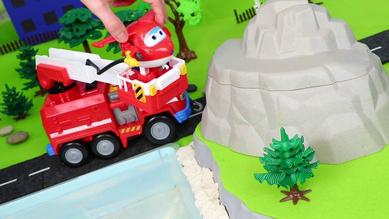 Super Wings Toys for kids فتح لعبة الطيارة المتحولة جيت من سوبر وينجز