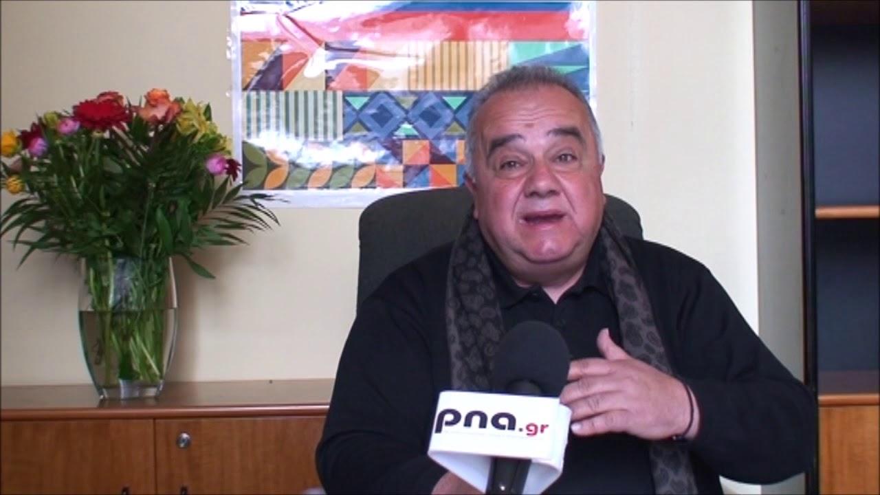 Συνέντευξη τύπου του Δημ. Βόσνου για το Πανεπιστήμιο Τρίπολης