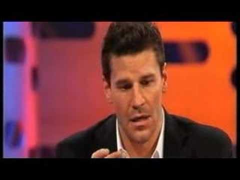 David Boreanaz on Graham Norton Show Pt1