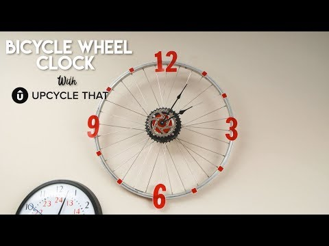 How to make your own Bicycle Wheel Clock