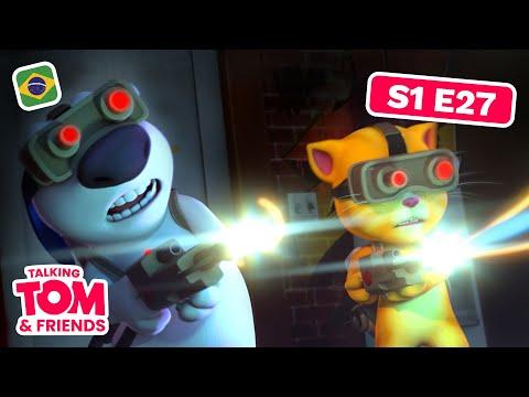 Caça-Fantasmas Piratas - Talking Tom and Friends (Temporada 1 Episódio 27)