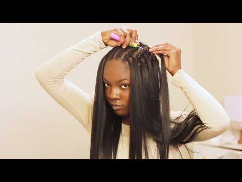 Straight Crochet Braids Tutorial