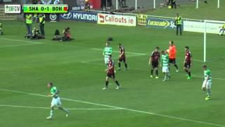 Highlights | Shamrock Rovers vs Bohemians | 05/09/15