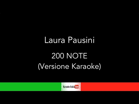 Laura Pausini - 200 Note (Base Musicale Karaoke Cover)