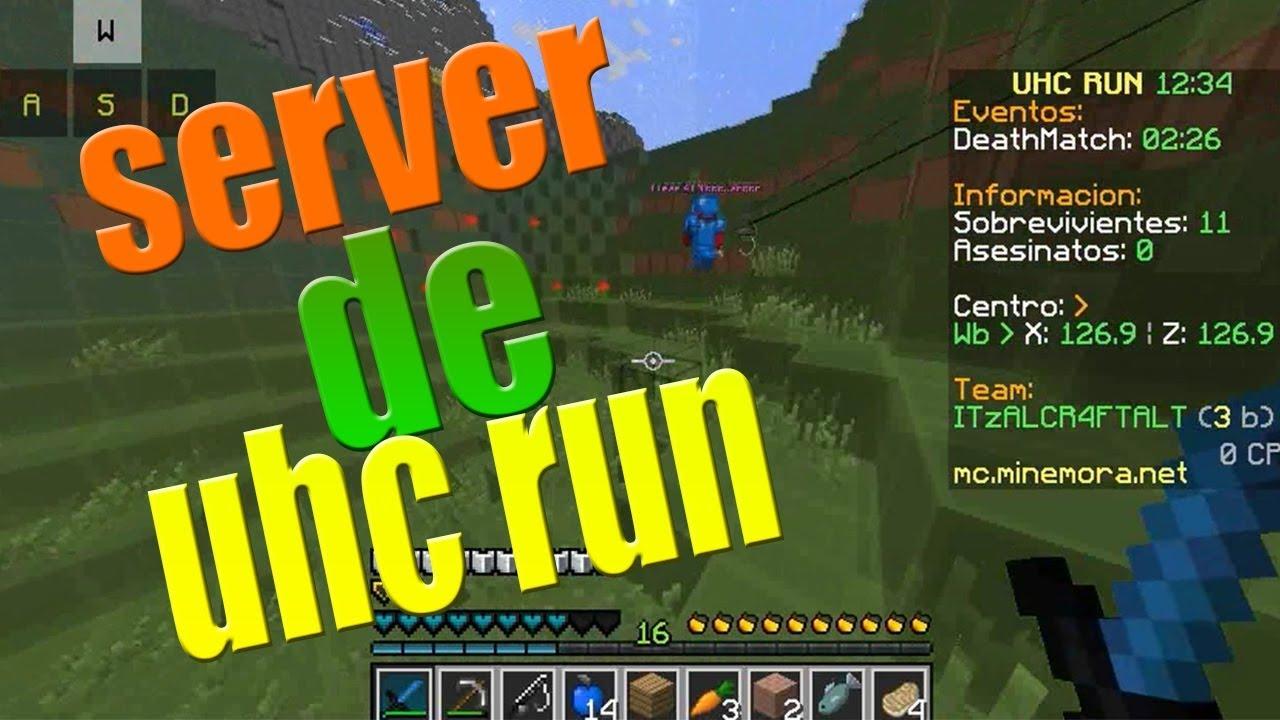 SERVER DE UHC RUN NO PREMIUM 8.8 - YouTube