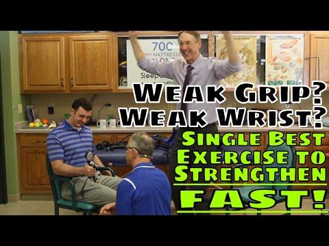 Weak Grip? Weak Wrist? Single Best Exercise to Strengthen FAST!