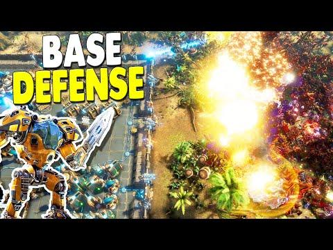 LAST STAND DEFENSE Colony Base OVERRUN Evacuation | The Riftbreaker Base Building Gameplay