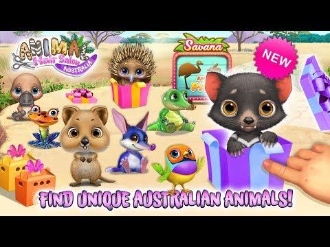Surprise Animals! Unbox & Collect! Animal Hair Salon Australia | TutoTOONS Cartoons & Games For Kids