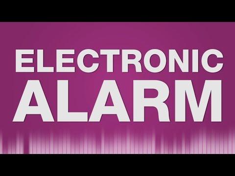 Electronic Alarm Peep SOUND EFFECT - Elektronischer Wecker klingelt SOUND EFFEKT