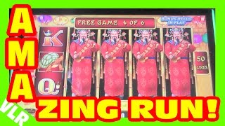 LIGHTNING LINK - AMAZING RUN - Slot Machine LIVE PLAY & BONUS BIG WIN