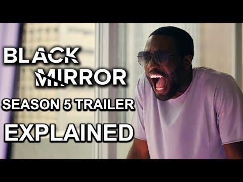 Black Mirror Season 5 Trailer EXPLAINED and REACTION
