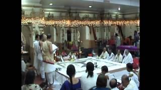 SHIVA SAHASRA LINGA PUJA MAHOTSAVAM - 04-28-2012  - VIDEO  BY AL SOMANATH