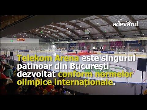 Primele imagini cu Telekom Arena, cea mai nouă arenă de hochei din Capitală