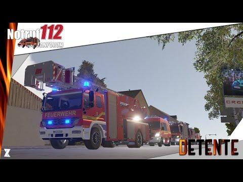 🚒Emergency call / Notruf 112 - Le simulateur de pompiers - Incendie de camion !