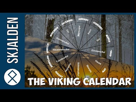 The Viking Lunar Calendar - The Names of Months and Days