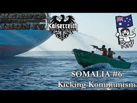 HOI4 Kaiserreich - Somalia #6 - Kicking Kommunism
