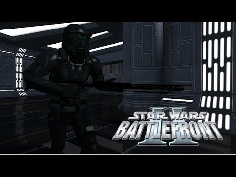 Star Wars Battlefront II Mod - Battlefront Ultimate Commander 1.0 - Death Troopers Gameplay