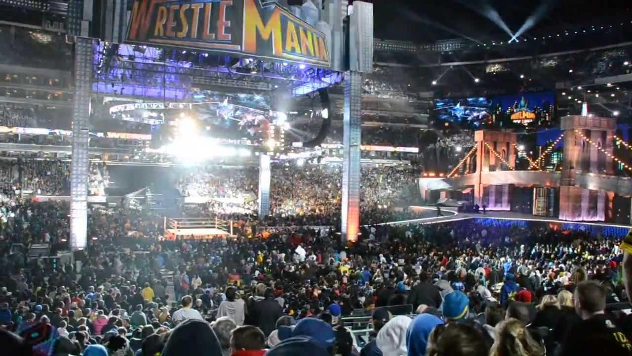 Wwe Wrestlemania 29 Attendance Record Pyro Celebration