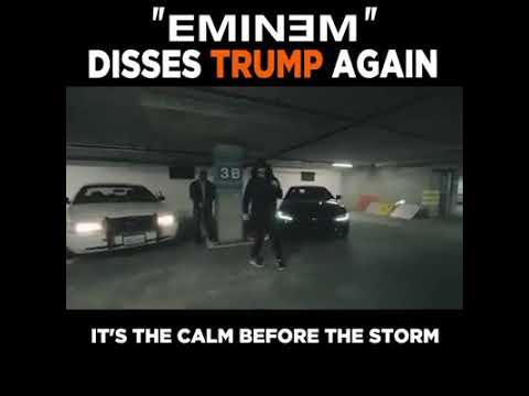 BET FREESTYLE-Eminem disses Donald trump for the 2nd time || (parody version)