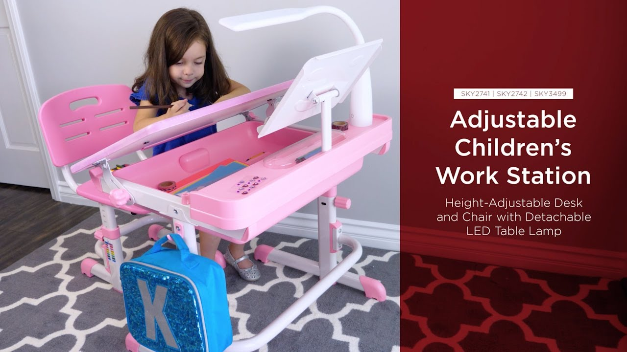 Sky2741 Sky2742 Sky3499 Adjustable Children S Work Station