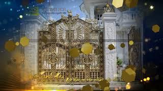 Cổng nhôm đúc Bình Thuận