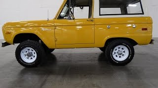 1972 Bronco Outside Drive, Gateway Classic Cars Nashville  #36
