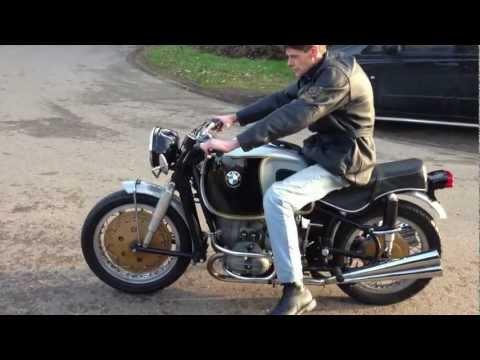 BMW R69S 1967 600cc At purchase rebuilt by Ernst Hoske - Test ride bike 52 B