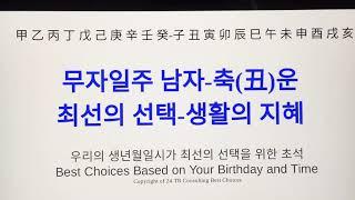 무자 일주 남자 축(丑)운-최선의 선택 생활의 지혜