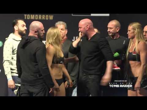 UFC 193: Weigh-in Recap