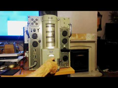 Murphy B40.B Ships Radio Receiver Quick Demonstration