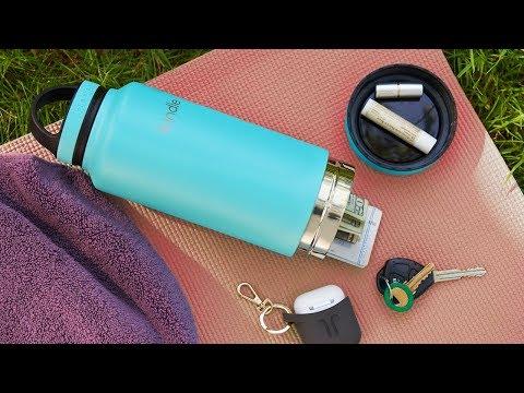 Bindle Bottle | Storage Water Bottle