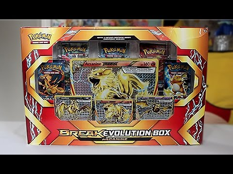Opening A Crazy Arcanine BREAK Evolution Box!!