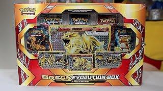 Opening A Crazy Arcanine BREAK Evolution Box!!