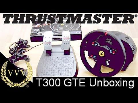 Thrustmaster T300 GTE First Look Unboxing