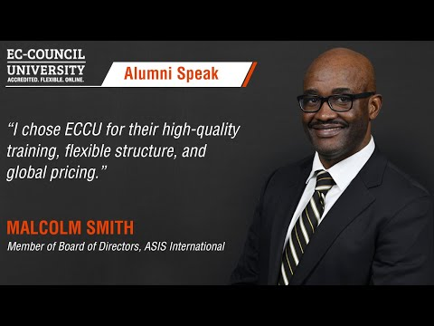 Malcolm Smith | Student Testimonials | EC-Council University