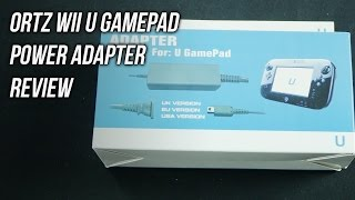 Ortz Wii U Gamepad Power Adapter Unboxing Review
