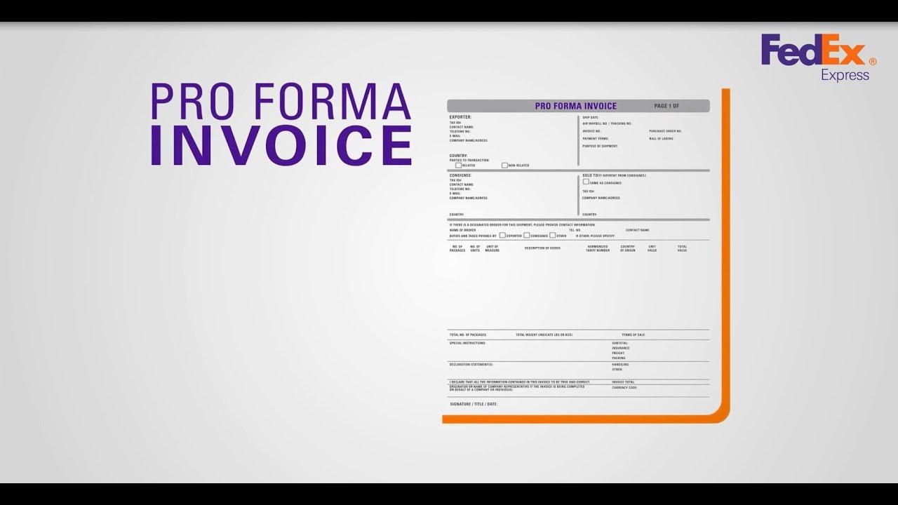 como exportar vÍdeo 5 pro forma invoice youtube
